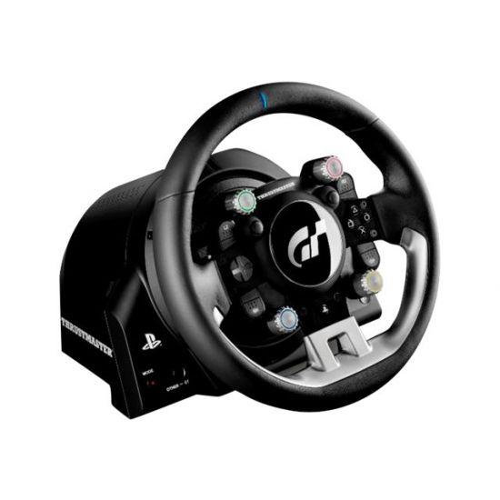 ThrustMaster T-GT - rat og pedalsæt - kabling