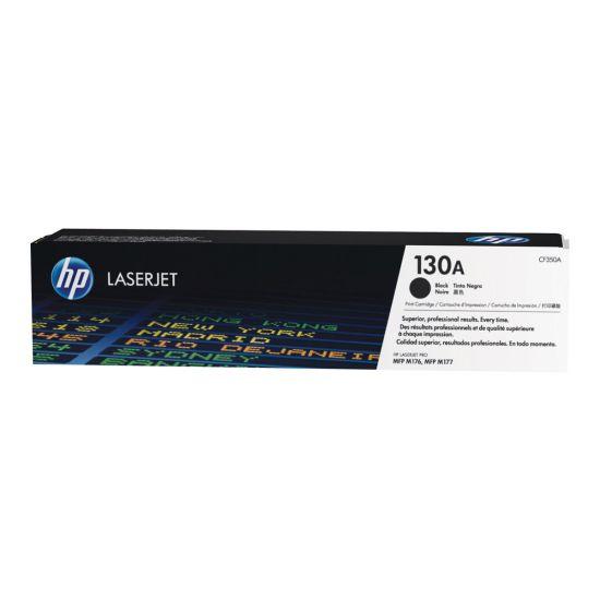 HP 130A - sort - original - LaserJet - tonerpatron (CF350A)