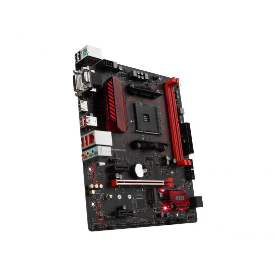 MSI B350M GAMING PRO - bundkort - micro-ATX - Socket AM4 - AMD B350 FCH