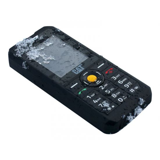 CAT B30 - sort - 3G HSPA+ - GSM - mobiltelefon