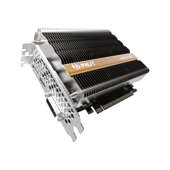 Palit Geforce GTX 1050 Ti KalmX &#45 NVIDIA GTX1050Ti &#45 4GB GDDR5 - PCI Express 3.0 x16