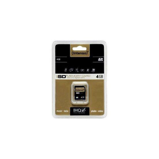 Intenso - flashhukommelseskort - 4 GB - SDHC