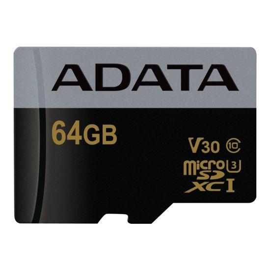 ADATA Premier Pro - flashhukommelseskort - 64 GB - microSDXC UHS-I