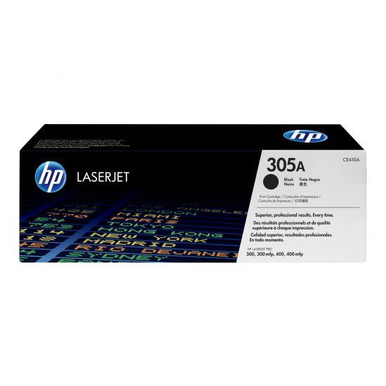 HP 305A - sort - original - LaserJet - tonerpatron (CE410A)
