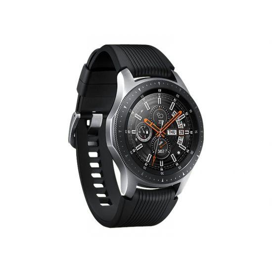 Samsung Galaxy Watch - sølv - smart ur med bånd - 4 GB