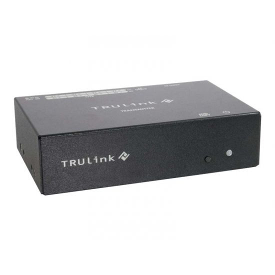 C2G TruLink 4-port VGA+3.5mm Audio over Cat5 Box Transmitter - video/audio ekspander