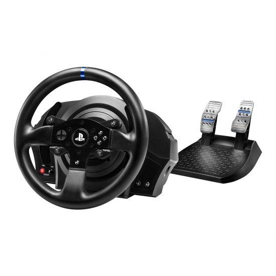 ThrustMaster T300 RS - GT Edition - rat og pedalsæt - kabling