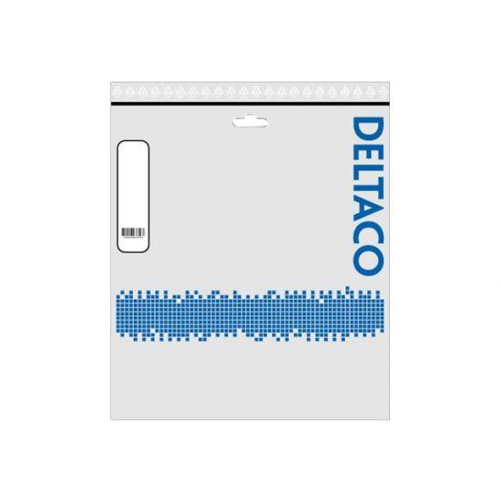 DELTACO TP-63VAU - patchkabel - 3 m - hvid