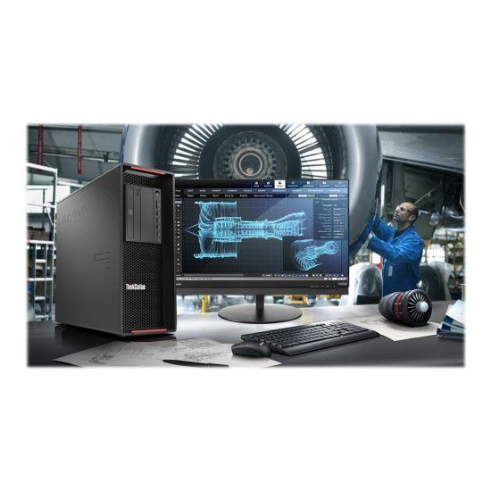 Lenovo ThinkStation P720 - tower - Xeon Silver 4114 2.2 GHz - 16 GB - 512 GB - Nordisk