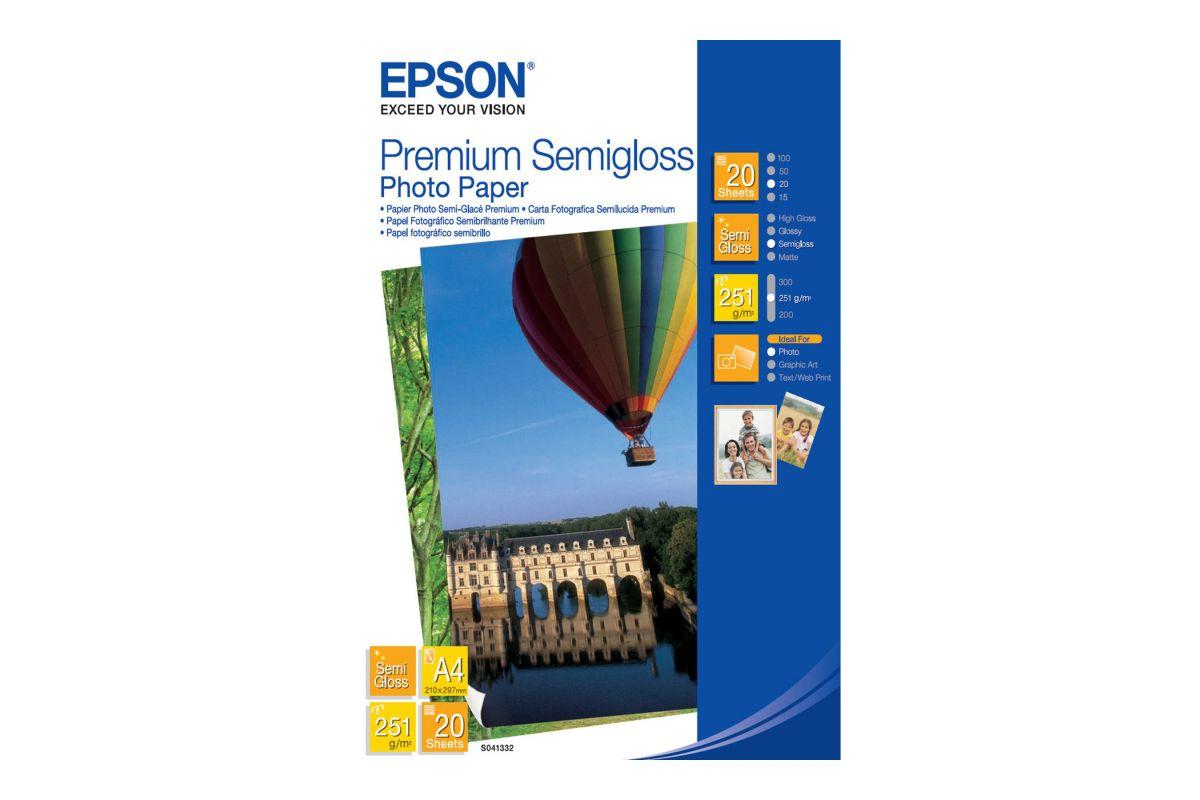Epson Premium Semigloss Photo Paper