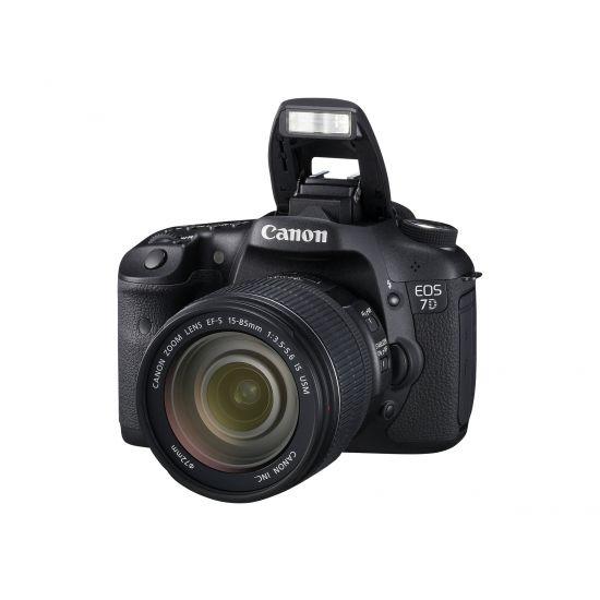 Canon EOS 7D - digitalkamera EF-S 18-135 mm IS objektiv