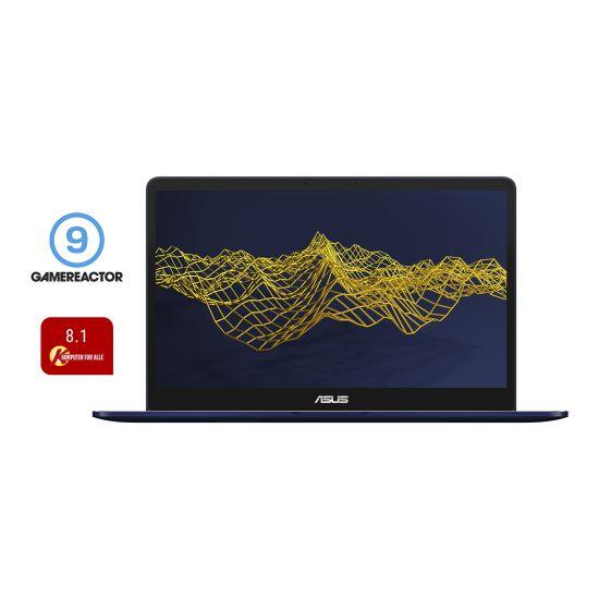 "ASUS ZenBook Pro UX550VE BO006T - Intel Core i7 7700HQ / 2.8 GHz - 16 GB DDR4 - 512 GB M.2 PCIe SSD - NVIDIA GeForce GTX 1050 Ti 4GB GDDR5 - 15.6"""