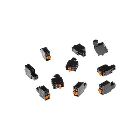 AXIS Connector A 2-pin 2.5 Straight