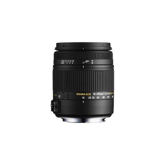 Sigma zoomobjektiv - 18 mm - 250 mm