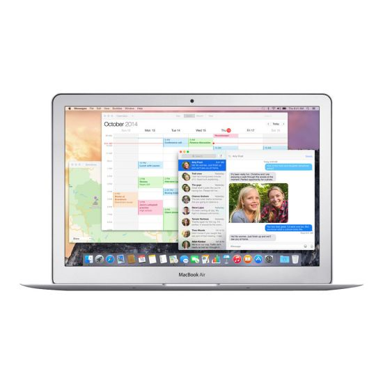 "Apple MacBook Air - 13.3"" - Core i5 - 8 GB RAM - 128 GB flashhukommelse - Dansk"