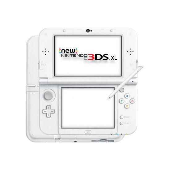 New Nintendo 3DS XL - håndholdt spillekontrolenhed - perlehvid