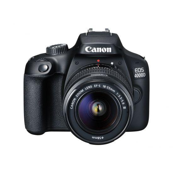 Canon EOS 4000D - digitalkamera EF-S 18-55 mm DC III objektiv
