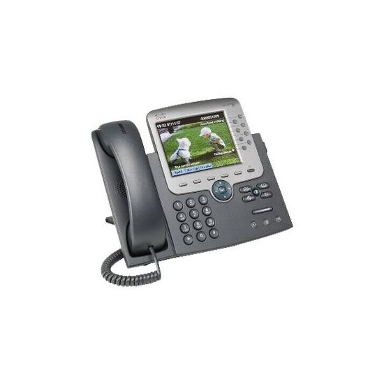 Cisco Unified IP Phone 7975G - VoIP-telefon - med 1 x brugerlicens