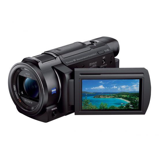 Sony Handycam FDR-AX33 - Videokamera - Carl Zeiss - lagring: flashkort