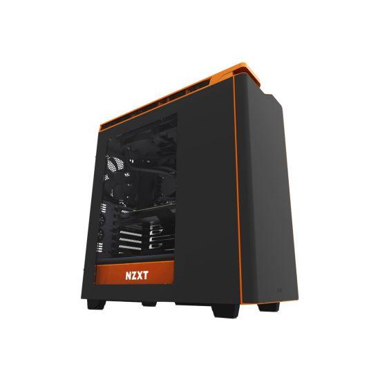 NZXT H440W New Edition Silent Ultra - Black/Orange Window