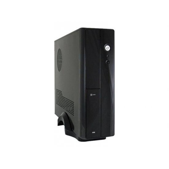 LC Power LC-1400mi - desktopmodel slimline - micro-ATX