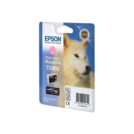 Epson T0966 - levende lyserød - original - blækpatron