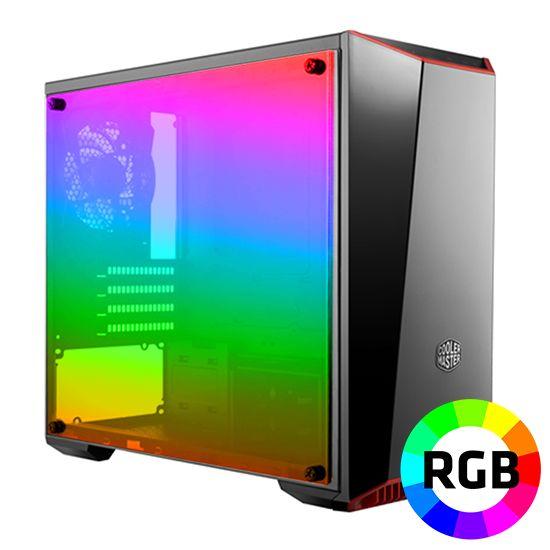 Føniks Value RGB Gamer Computer - Intel i5 9400F - 16GB RGB DDR4 - GTX1660 6GB - 480GB SSD - Vandkøler RGB - Uden Windows
