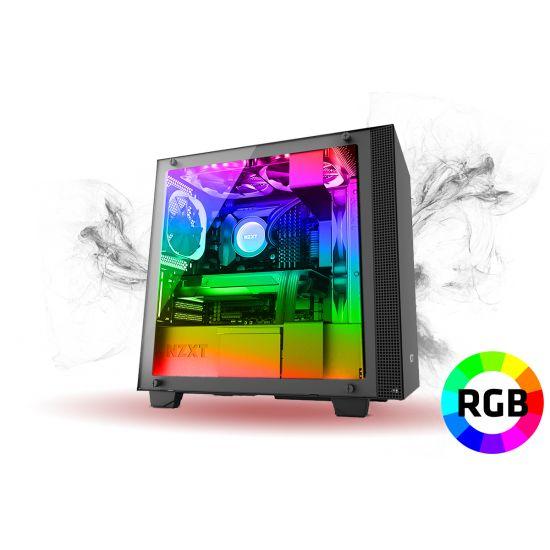 Føniks Value RGB Gamer Computer - Intel i5 9400F - 16GB RGB DDR4 - GTX1660 6GB - 480GB SSD - Vandkøler - Uden Windows