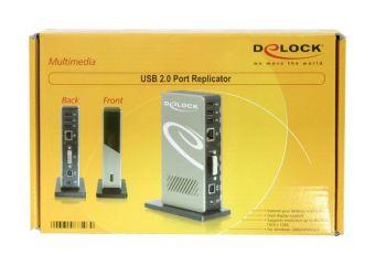 DeLOCK USB 2.0 Port Replicator
