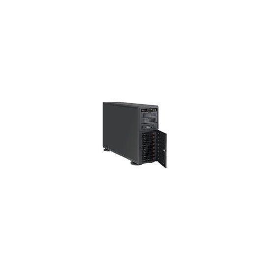 Supermicro SC743 TQ-865B-SQ - tårn - 4U - udvidet ATX