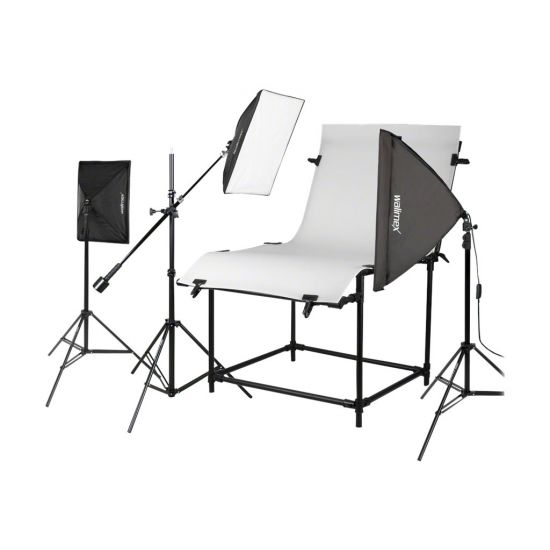 Walimex Shooting Table Set Pro Daylight - sæt til konstant belysning