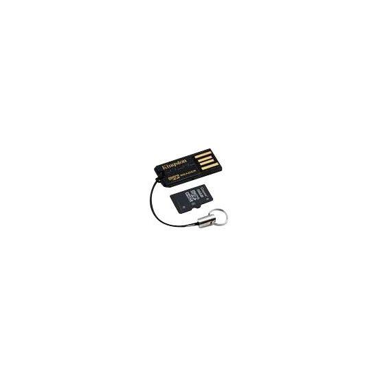 Kingston USB microSD Reader - kortlæser - USB 2.0