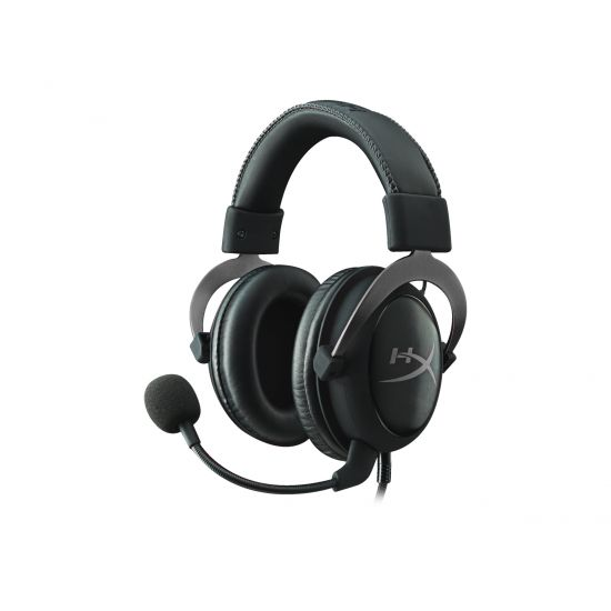 Kingston HyperX Cloud II Gaming Headset - Metal-grå