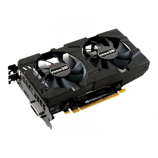 Inno3D Geforce GTX 1050Ti &#45 NVIDIA GTX1050Ti &#45 4GB GDDR5 - PCI Express 3.0 x16