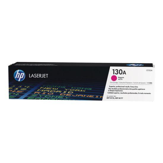 HP 130A - magenta - original - LaserJet - tonerpatron (CF353A)