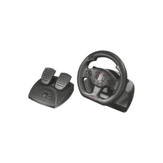 Trust GXT 580 - rat og pedalsæt - kabling
