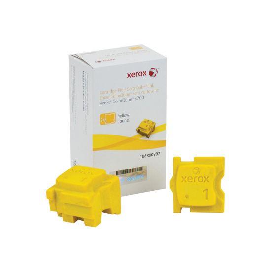 Xerox - 2 - gul - fast blæk - Sold