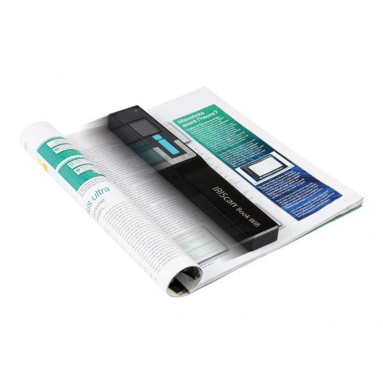 IRIS IRIScan Book 5 Wifi - håndholdt scanner - bærbar - USB, Wi-Fi