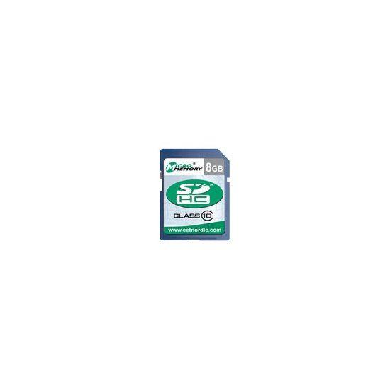 MicroMemory - flashhukommelseskort - 8 GB - SDHC