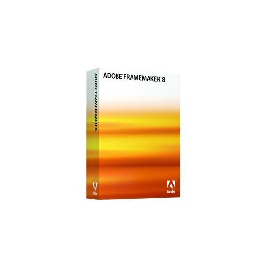 Adobe FrameMaker Shared (v. 8) - bokspakke (opgradering) - 1 bruger