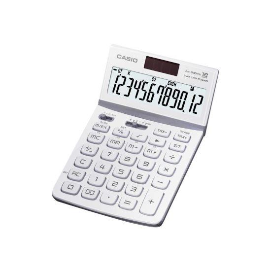 Casio JW-200TW-WE - skrivebords-regnemaskine