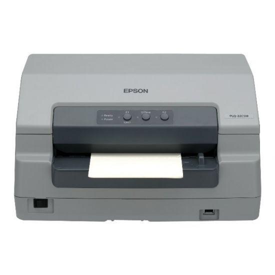 Epson PLQ 22CSM - printer til bankbøger - monokrom - dot-matrix