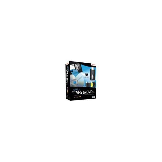 Roxio Easy VHS to DVD - bokspakke - 1 bruger