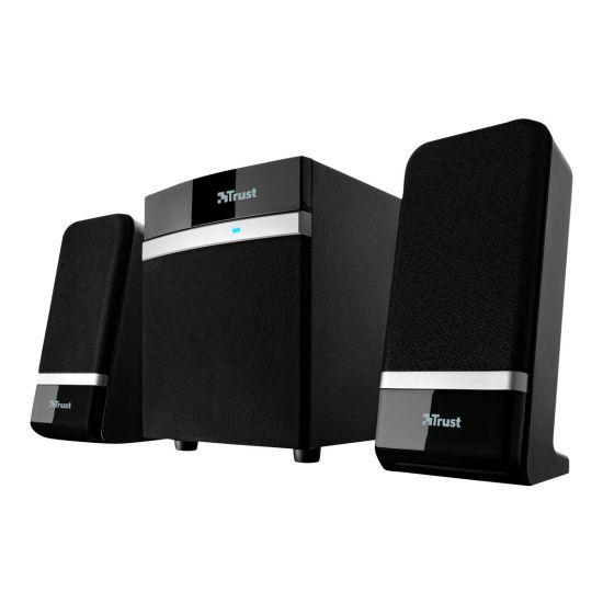 Trust Raina 2.1 Subwoofer Speaker Set - højttalersystem - til PC