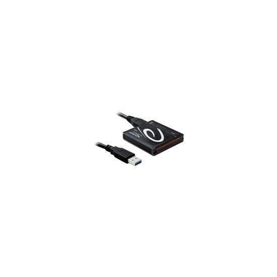 DeLOCK USB 3.0 Card Reader All in 1 - kortlæser - USB 3.0