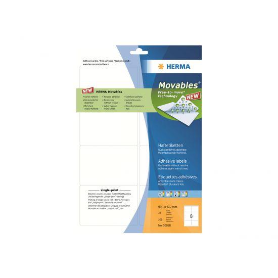 HERMA Special - adresseetiketter - 200 etikette(r)