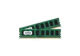 Crucial &#45 2GB: 2x1GB &#45 DDR3 &#45 1600MHz &#45 DIMM 240-pin