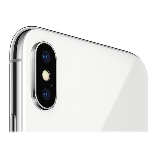 Apple iPhone X - sølv - 4G LTE, LTE Advanced - 64 GB - GSM - smartphone