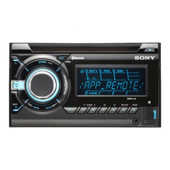 Sony WX-GT90BT - Bil - CD-modtager - in-dash enhed - Double-DIN