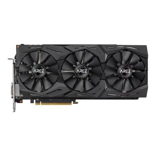 ASUS AREZ-STRIX-RXVEGA64-O8G-GAMING &#45 AMD Radeon RXVEGA64 &#45 8GB HBM2 - PCI Express 3.0 x16
